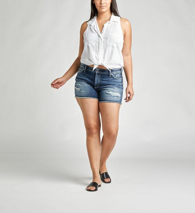 Suki Mid Rise Short Plus Size