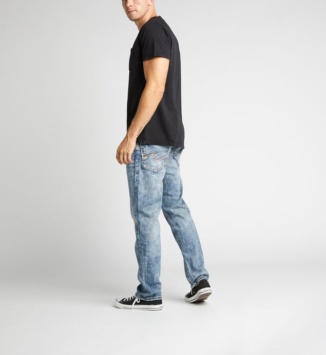 Eddie Relaxed Fit Tapered Leg Jeans, , hi-res