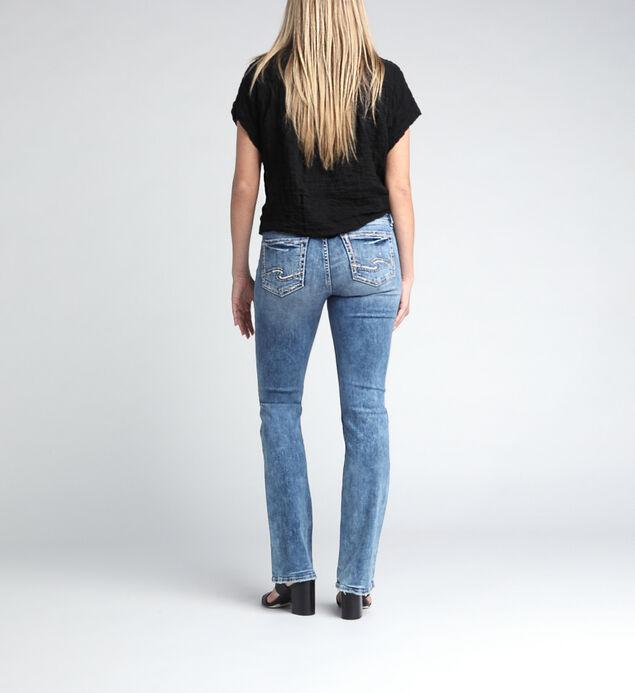 Elyse Mid Rise Slim Bootcut Jeans, , hi-res
