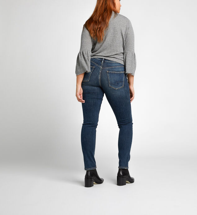 Avery Slim High Medium Wash, , hi-res
