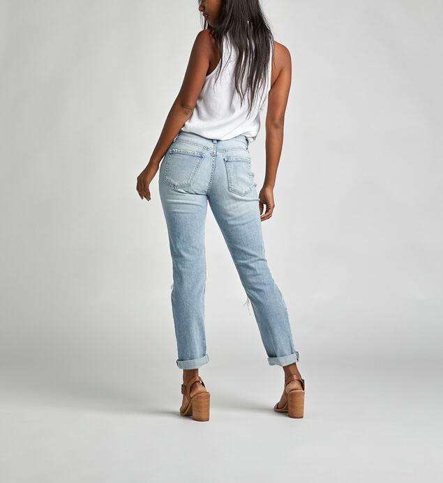 Not Your Boyfriends Jeans Mid Rise Slim Leg Jeans, , hi-res