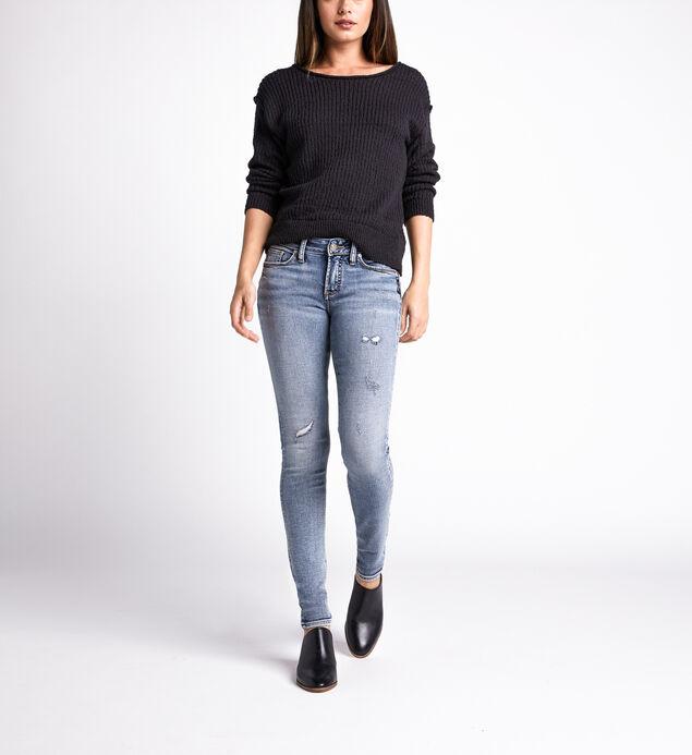 Suki Mid Rise Skinny Leg Jeans