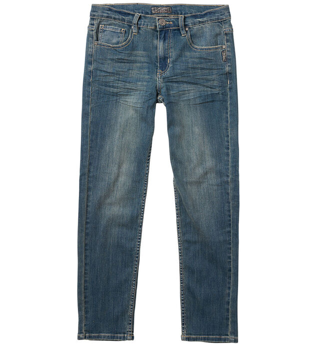 Nathan Skinny Jeans in Medium Wash (4-7)