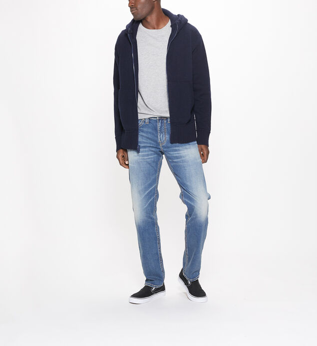 Eddie Tapered Leg Medium Wash