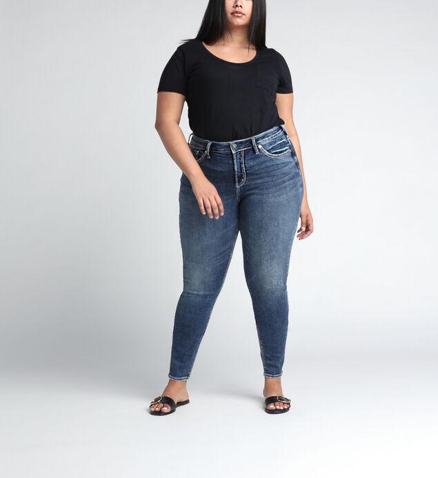 Avery High Rise Skinny Leg Jeans