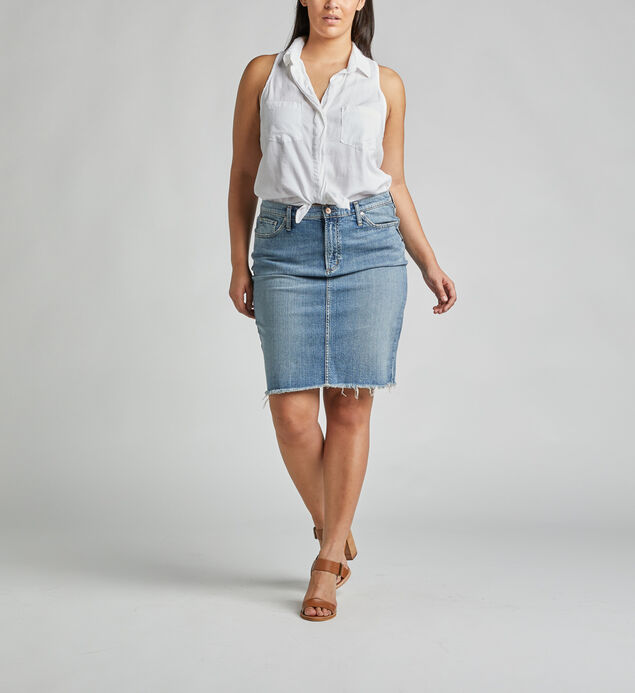 Frisco High Rise Pencil Skirt Plus Size