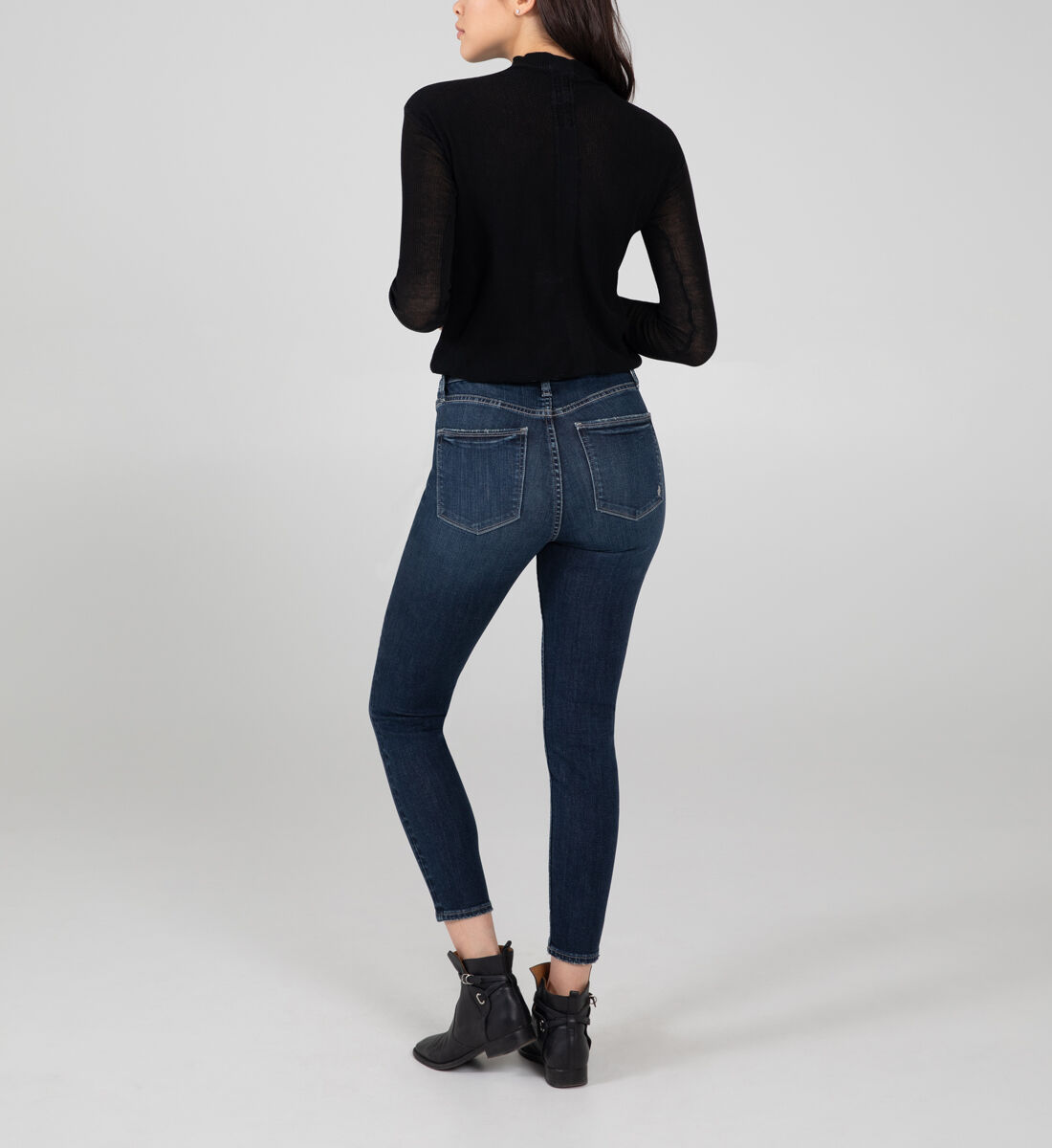 High Note High Rise Skinny Jeans Back