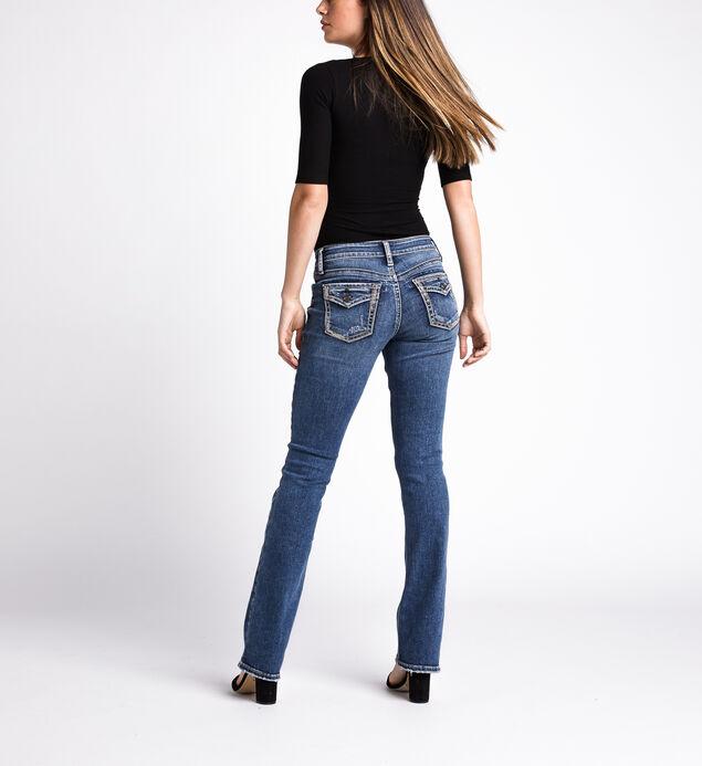 Suki Mid Rise Slim Bootcut Jeans, Indigo, hi-res