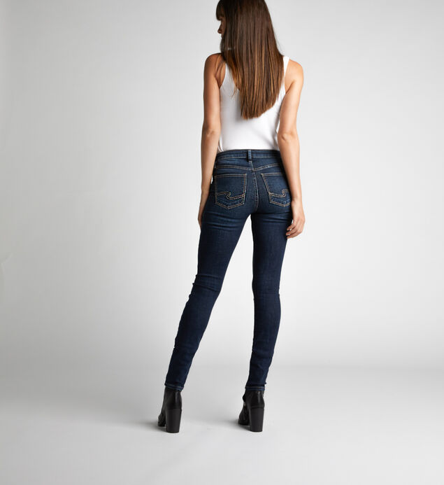 Mazy High-Rise Skinny Jeans, , hi-res