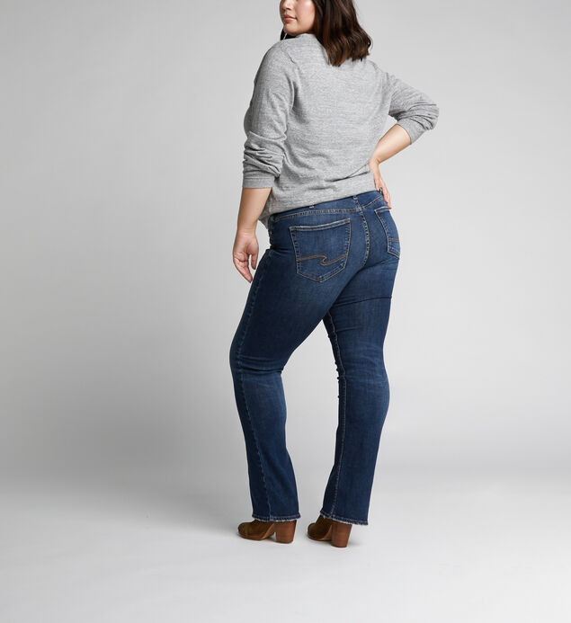 Plus Size Tall Silver Jeans