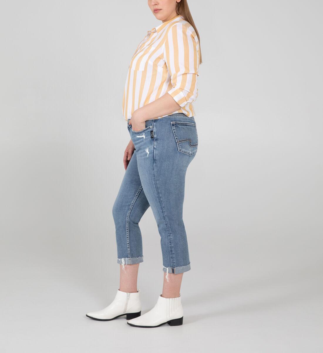Suki Mid Rise Capri Plus Size Side