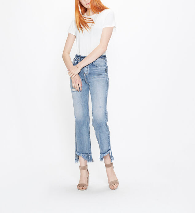 Vintage Ankle Straight High Rise Medium Wash