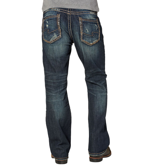 Craig Bootcut Dark Wash, , hi-res