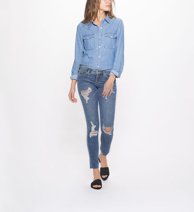 Landree Jegging Low Rise Medium Wash