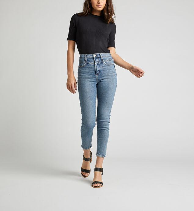 Ode To 80s High Rise Skinny Leg Jeans