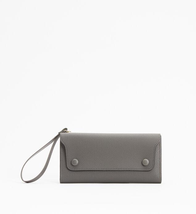 Medium Flap Wristlet Wallet