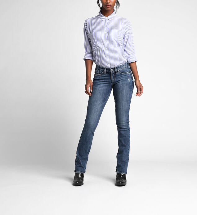Tuesday Low Rise Slim Bootcut Jeans