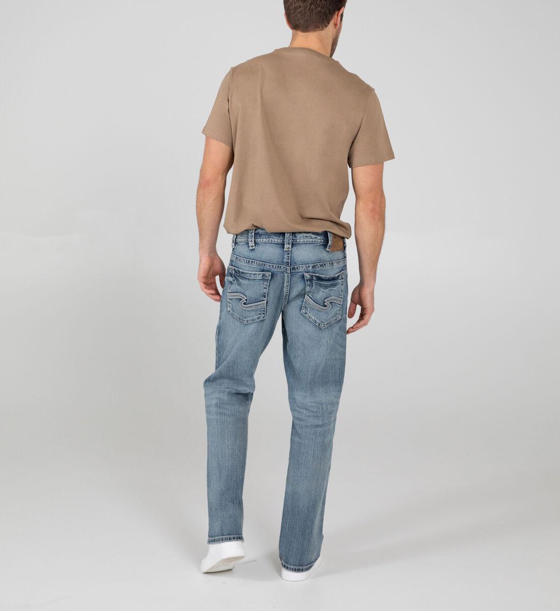 Gordie Loose Fit Straight Leg Jeans Back