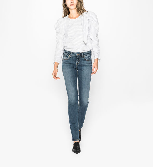 Suki Straight Dark Wash
