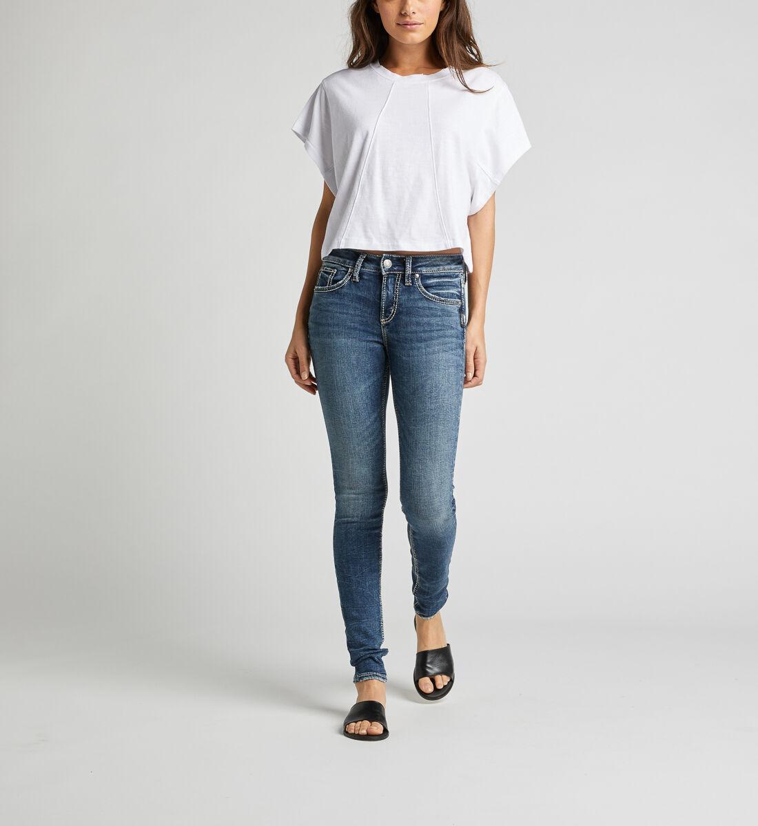 Avery High Rise Skinny Leg Jeans Alt Image 1