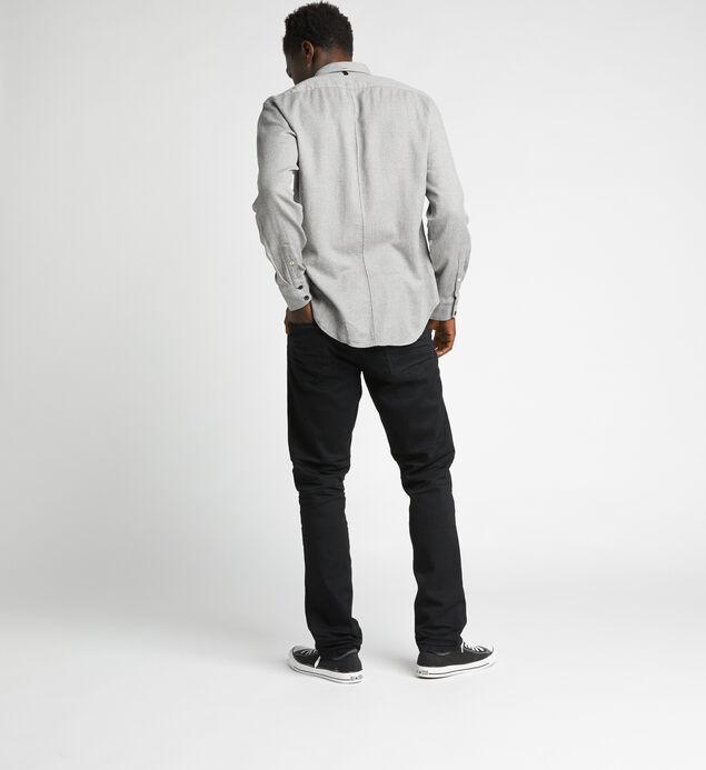 Machray Classic Straight Jeans, Black, hi-res