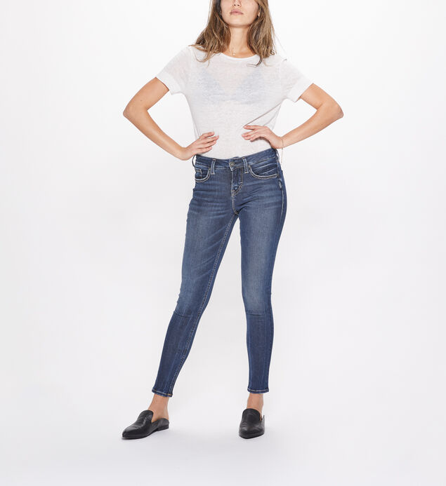Avery Super Skinny High Rise Dark Wash