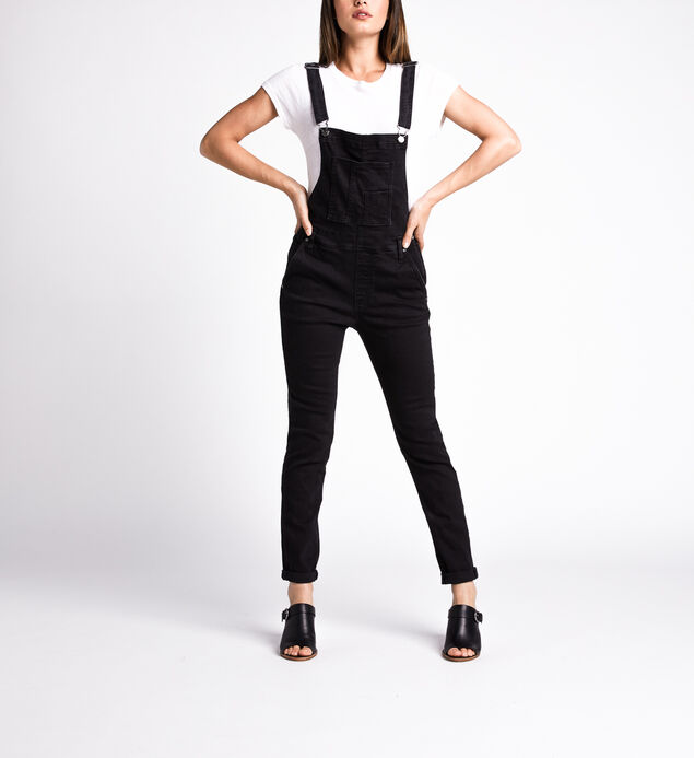 Overall Skinny Leg Jeans