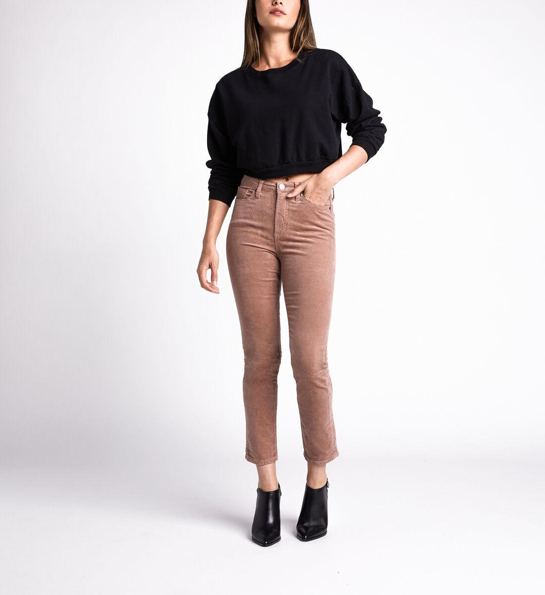 High Note High Rise Slim Leg Pants,Blush Alt Image 1