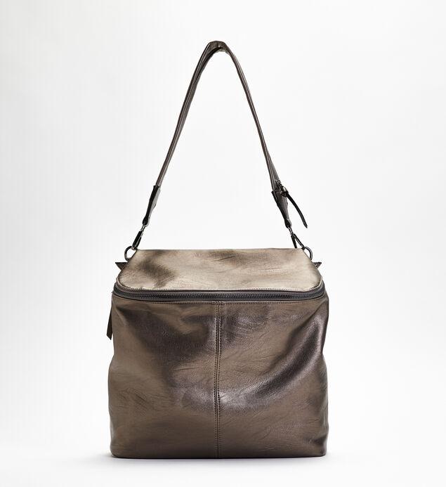Zip-Around Shoulder Bag