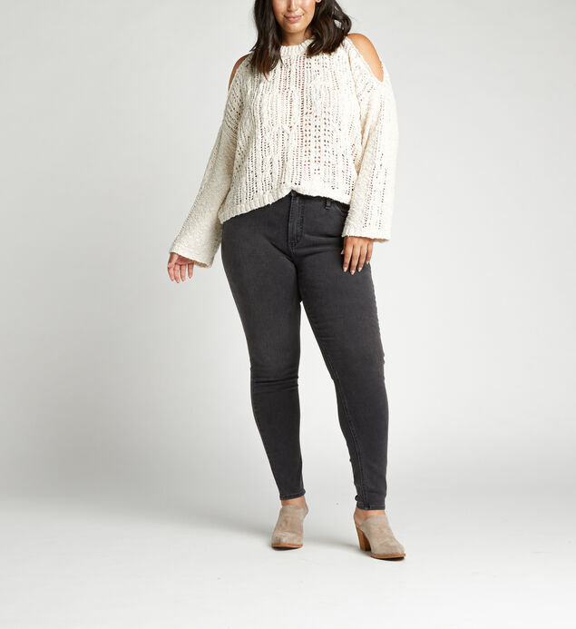 High Note High Rise Skinny Plus Size Jeans