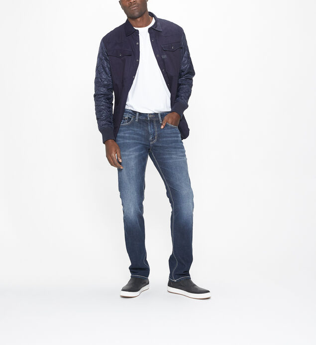 Konrad Slim Leg Dark Wash