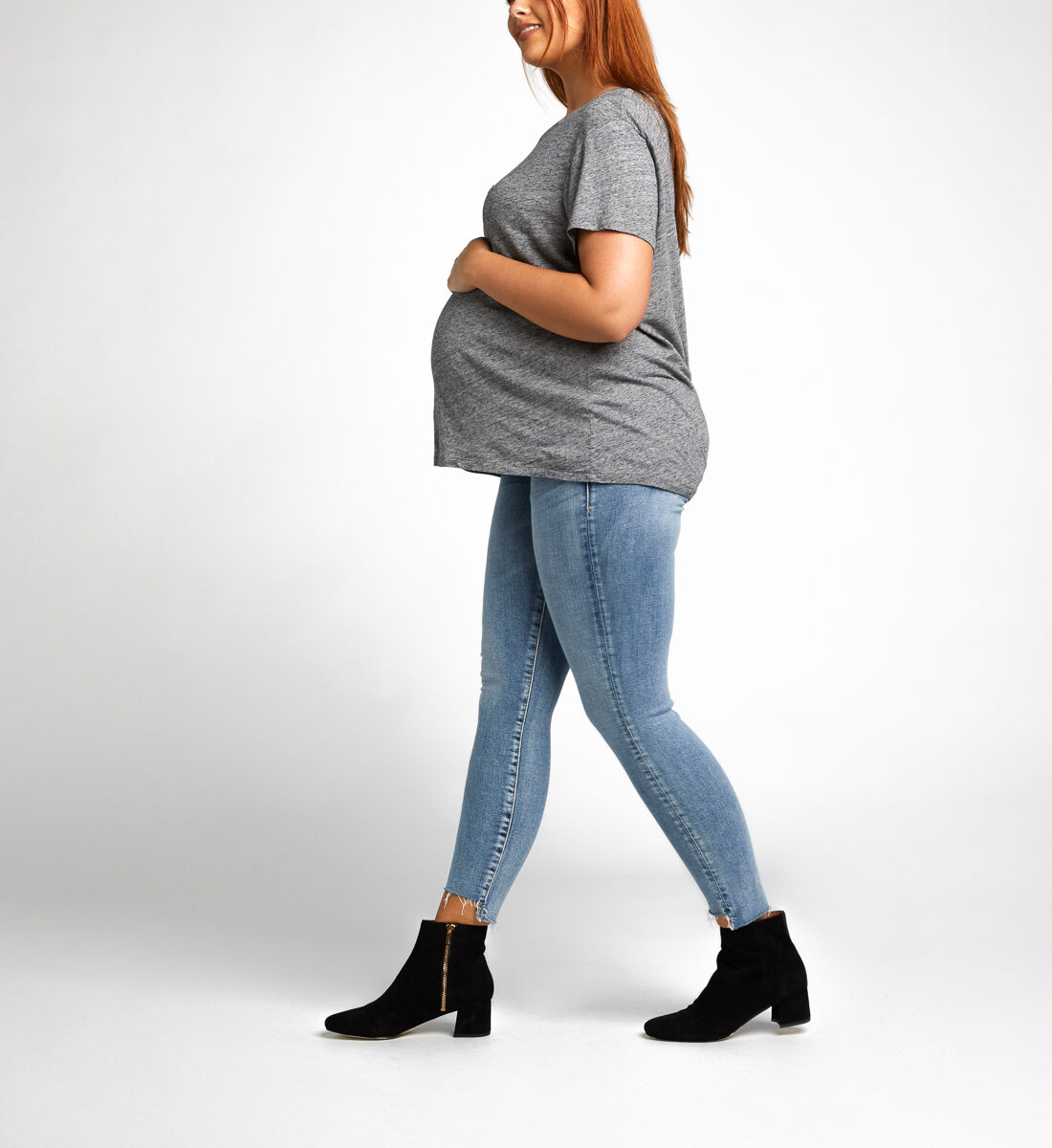 Aiko Ankle Skinny Maternity Jeans Alt Image 1