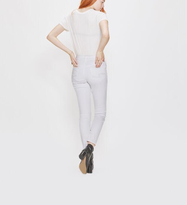 Avery Skinny Leg White Denim, , hi-res
