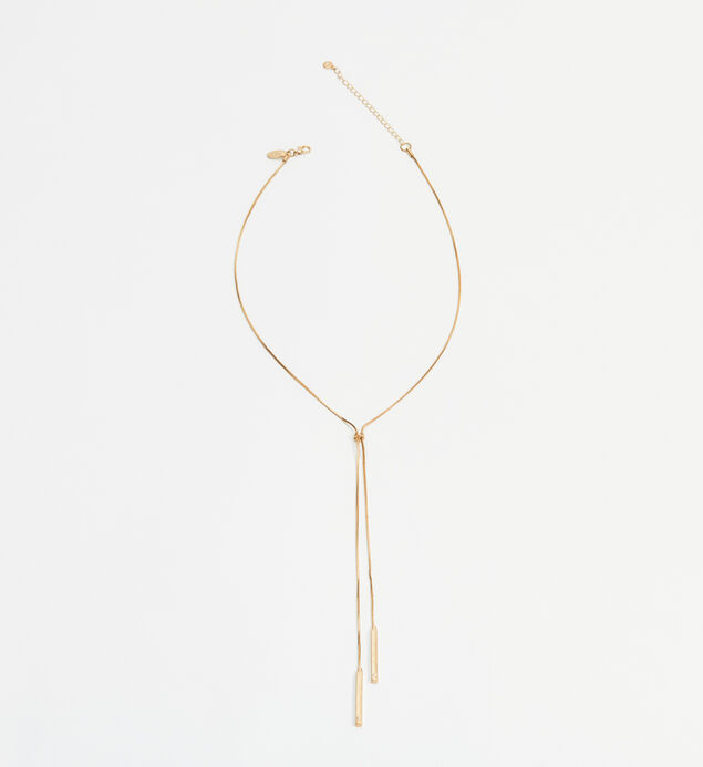 Long Bolo Necklace