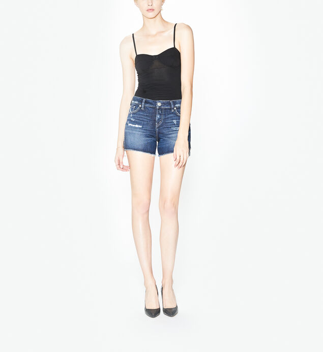 Elyse Short Dark Wash