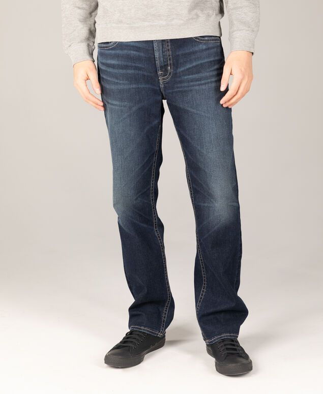 Grayson Big & Tall Easy Fit Straight Leg Jeans