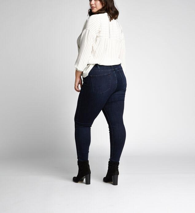 Mazy High Rise Skinny Leg Jeans Plus Size, , hi-res