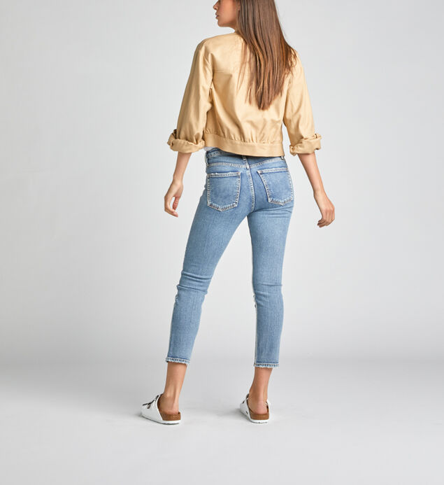High Note High Rise Slim Crop Jeans, , hi-res