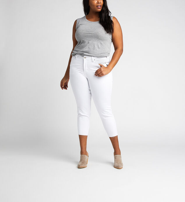 Avery High Rise Skinny Crop Pants Plus Size
