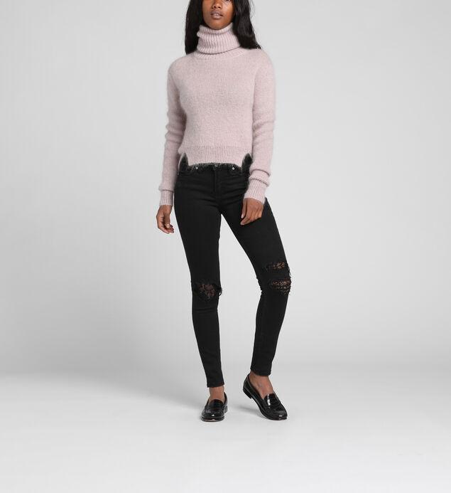 Aiko Mid Rise Skinny Leg Jeans