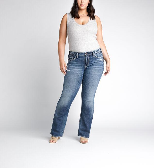 Suki Mid Rise Bootcut Plus Size Jeans