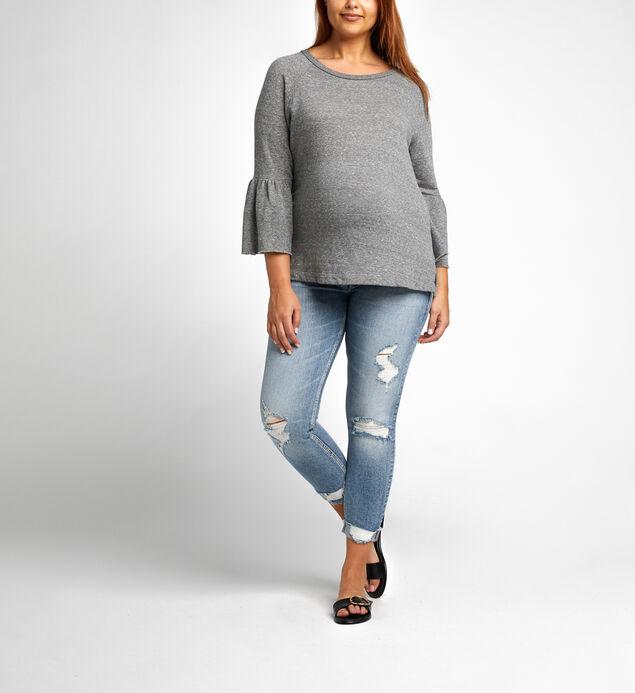 Suki Skinny Crop Maternity Jeans