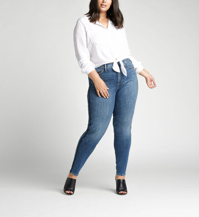 Calley Super High Rise Skinny Plus Size Jeans