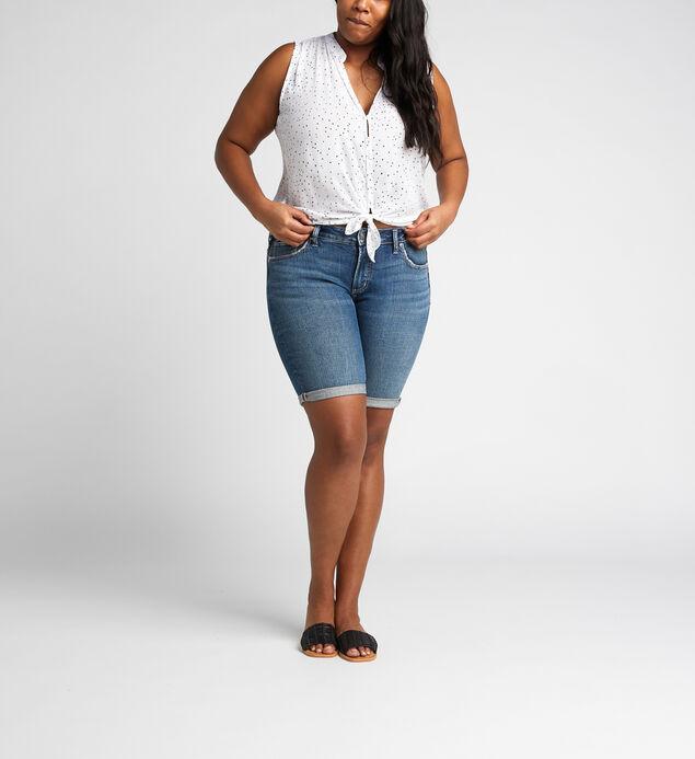 Elyse Mid Rise Bermuda Short Plus Size