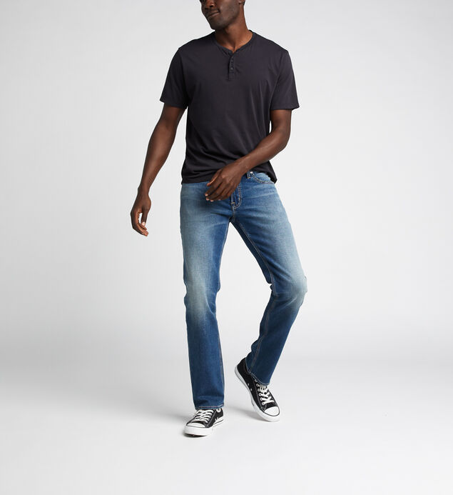 Allan Classic Fit Straight Jeans
