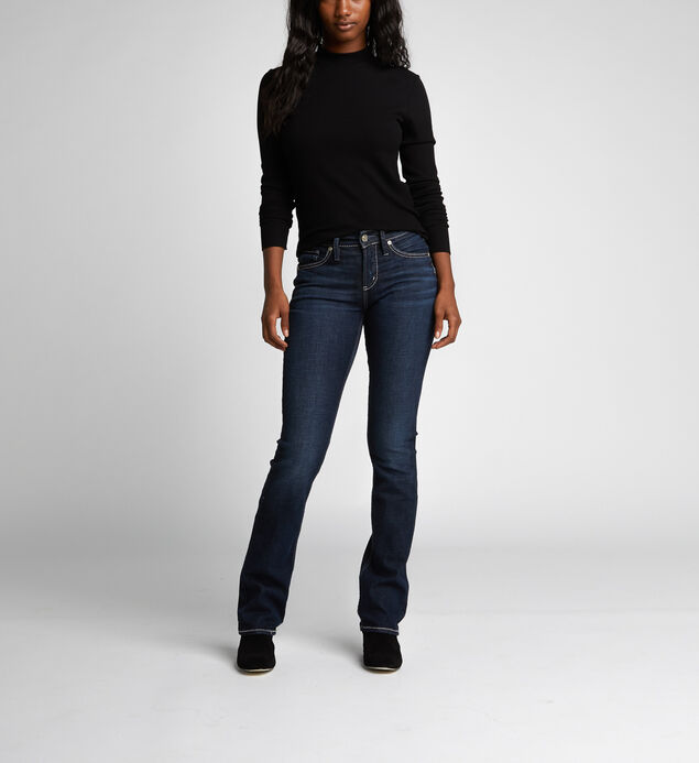 Avery High-Rise Curvy Slim Bootcut Jeans