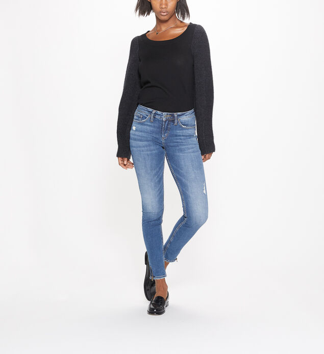 Aiko Skinny Mid-Rise Medium Wash