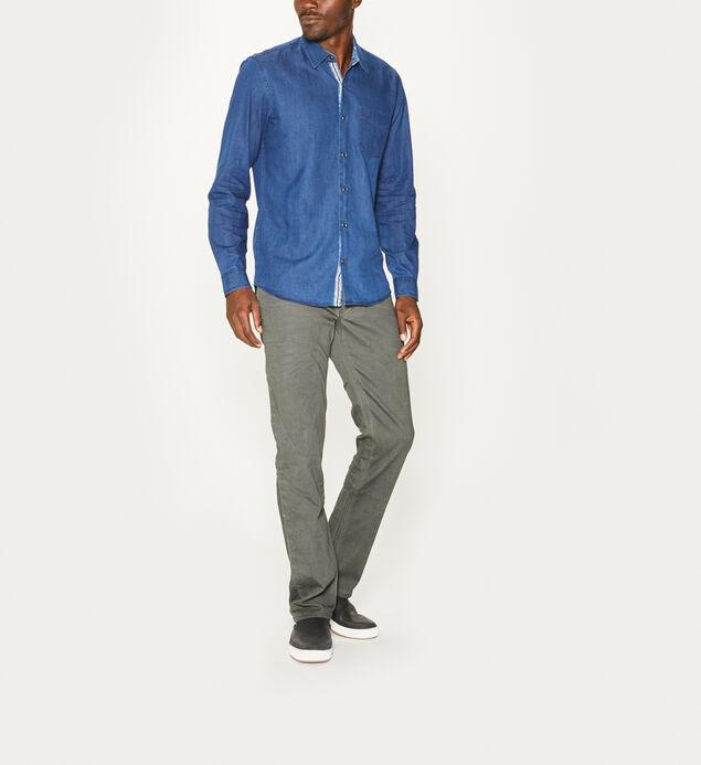 Max Long-Sleeve Button-Down Shirt