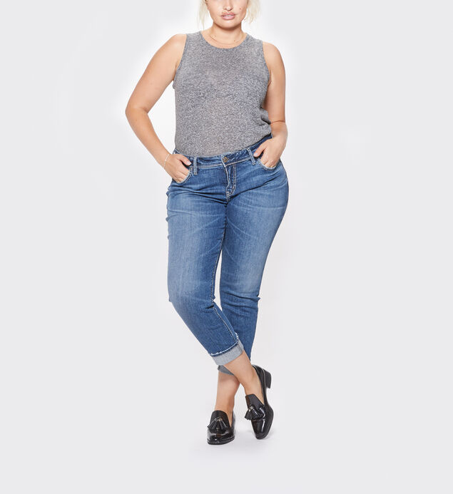 Suki Ankle Slim Dark Wash