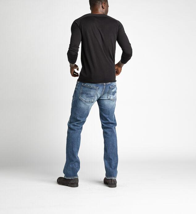Allan Classic Fit Straight Leg Jeans, , hi-res
